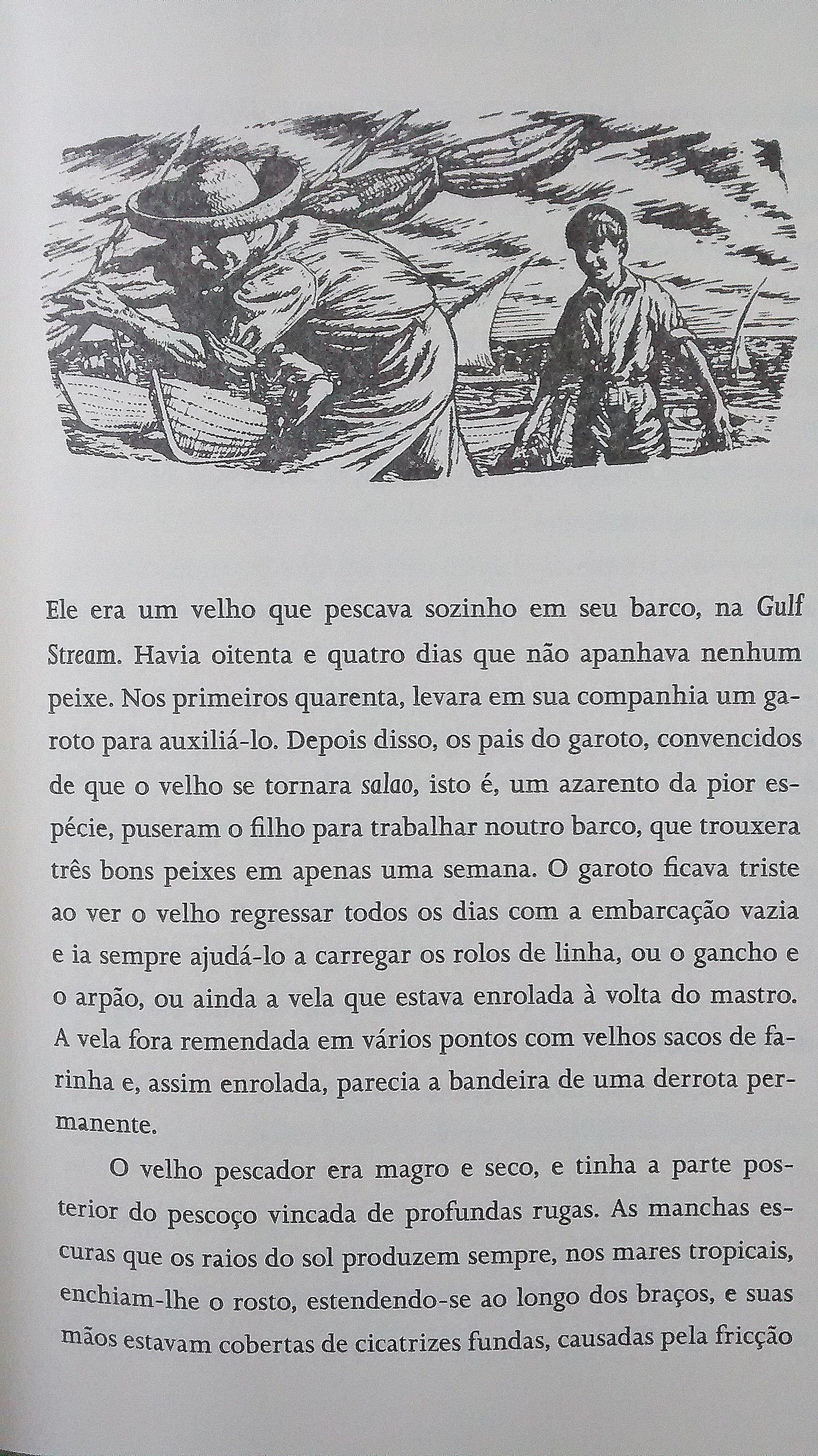 O VELHO E O MAR – Ernest Hemingway – Vinícius Carvalho Blog